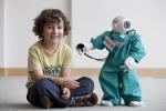 Uno dei primi robot sperimentati negli ospedali (fonte: Plymouth University)