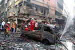 Bangladesh, a fuoco un deposito di sostante chimiche, quasi 100 morti