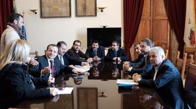 acr messina, messina calcio, serie d, Cateno De Luca, Pietro Sciotto, Messina, Sicilia, Sport