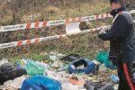 Casali del Manco, discarica abusiva scoperta dai carabinieri