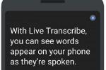 Un'app permette di tradurre le parole in testi per i non udenti sul display dello smatphone (fonte: Google)