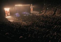 Eros in concerto: le prime immagini del tour «Vita ce n'è»