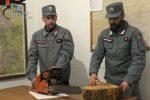 Furto di legna nel parco di Cotronei, denunciati due uomini di Petilia Policastro