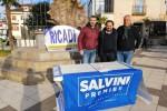 """Un gazebo della Lega a Ricadi: """"Tante firme a sostegno di Salvini"""""""