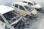 """Montepaone, incendio all'auto per un articolo """"sgradito"""": quattro indagati"""