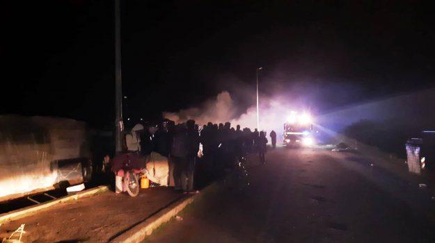 incendio san ferdinando, Al Ba Moussa, Reggio, Calabria, Cronaca