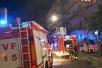 Stufa vicina al divano provoca un incendio, a fuoco un appartamento a Catanzaro