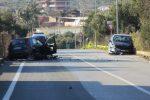 Incidente a Lamezia, le immagini da via Martiri di Nassiriya