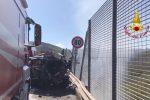 Magistrato morto in un incidente sulla Palermo-Catania, il video dello scontro sulla A19
