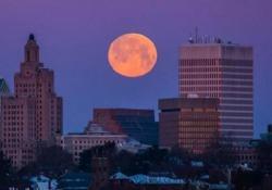Quella del 19 febbraio è stata la più grande e brillante Luna piena del 2019