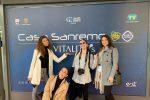 Gli studenti dell'Università di Messina a Sanremo, le immagini