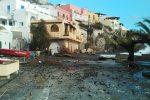 Maltempo alle Eolie, danni alle case per una mareggiata a Lipari. Disagi in tutta la Sicilia