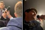 Michael Bublé in concerto lascia il microfono a un fan: il risultato è sorprendente
