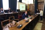 La seduta di commissione in cui sono stati illustrati i dati