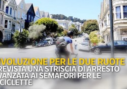 Il testo in discussione in Commissione trasporti. Molte novità per i ciclisti: ai semafori linea di stop avanzato