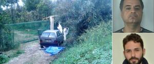 Il luogo dell'omicidio, la vittima Francesco Fiorillo e Zuliani, arrestato nel 2018 per il delitto