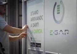 Pronto soccorso e-car: la prova su strada Ecco come funziona la ricarica on demand della E-Gap - Corriere Tv