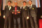 Il miglior club Ferrari d'Italia è messinese: Binotto, Vettel e Leclerc premiano Acquedolci