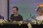 Sanremo, lo sfogo di Papaleo: «Nel 2012 Belen mi parlò solo sul palco»