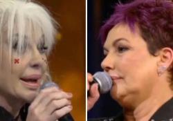 Volano parole dure tra la cantante e la sua cadetta durante la diretta di «Ora o mai più» su Rai Uno