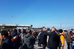 Lavoratori e sindaci in protesta al porto di Gioia Tauro, a Roma incontro al Ministero