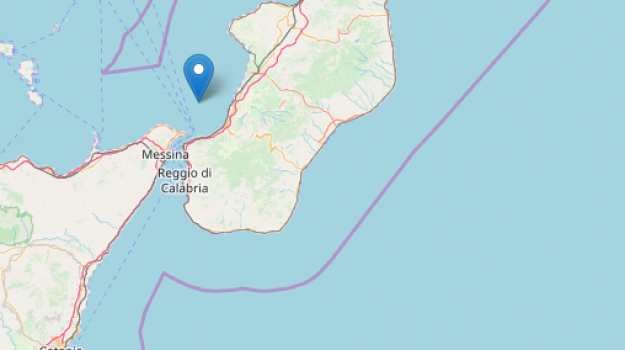 scossa terremoto reggio calabria, terremoto messina, terremoto stretto messina, Sicilia, Cronaca