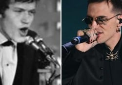 Il misterioso cantante che ha la stessa voce del cantautore genovese reinterpreta il brano sanremese