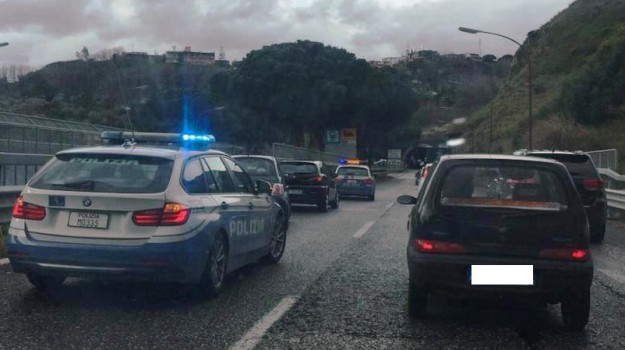 incidente tangenziale messina, polizia stradale, traffico messina, Messina, Sicilia, Cronaca