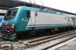Fulmine sulle rotaie, treni fermi lungo la Messina-Siracusa