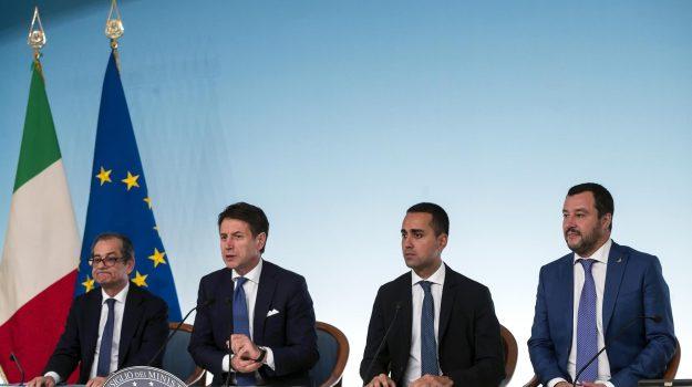 bankitalia, governo, Giovanni Tria, Luigi Di Maio, Matteo Salvini, Sicilia, Economia