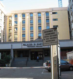 Il Tribunale di Catanzaro dove si trova il Tdl