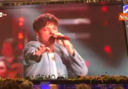 Il giovane cantante l'anno scorso vinse tra le Nuove Proposte