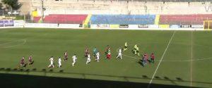 Pallonata all'arbitro, multa da 10.000 euro alla Vibonese