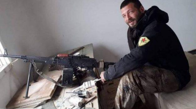 isis, italiano ucciso, terrorismo, Lorenzo Orsetti, Sicilia, Mondo