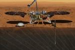 Due settimane di pausa per la 'talpa' di Insight fermata da un ostacolo (fonte: NASA/JPL-Caltech)