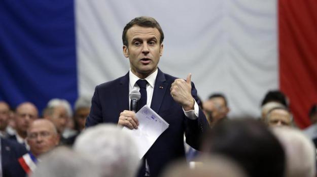 francia, parlamento, Emmanuel Macron, Sicilia, Mondo