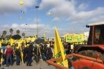 La protesta degli agricoltori a Lecce del 9 marzo (fonte: Coldiretti)