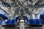 Murales nella stazione T-Centralen della metropolitana di Stoccolma