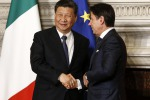Build Italy ports together says China on 'Silk Road'