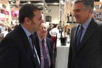 Il ministro Centinaio e il presidente del Consorzio Chianti Classico, Giovanni Manetti