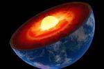 Rappresentazione artistica dell'interno della Terra (fonte: Argonne National Laboratory)