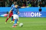 Soccer: Veteran Quagliarella helps young Italy run riot