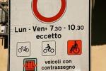 Una zona a traffico limitato di Torino (fonte: Alain Rouiller/Wikimedia)