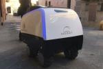 Entra in servizio il primo robot carrello della spesa (foto: Scuola Superiore Sant'Anna di Pisa)