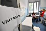 Un ambulatorio per le vaccinazioni