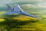 L'X-59 Quiet SuperSonic Technology X-plane o QueSST, progettato perchè a terra non si senta quasi alcun rumore, quando supera la velocità del suono (fonte: NASA Image)