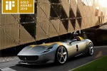 Ferrari Monza SP1 vince iF Gold Award