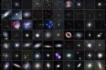 I 110 oggetti del catalogo Messier: galassie, nebulose e ammassi di galassie. (fonte: Uai)
