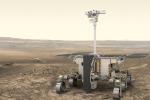 Il rover di ExoMars ' Rosalind Franklin' (fonte: ESA/ATG medialab)