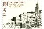Matera 2019, francobollo commemorativo